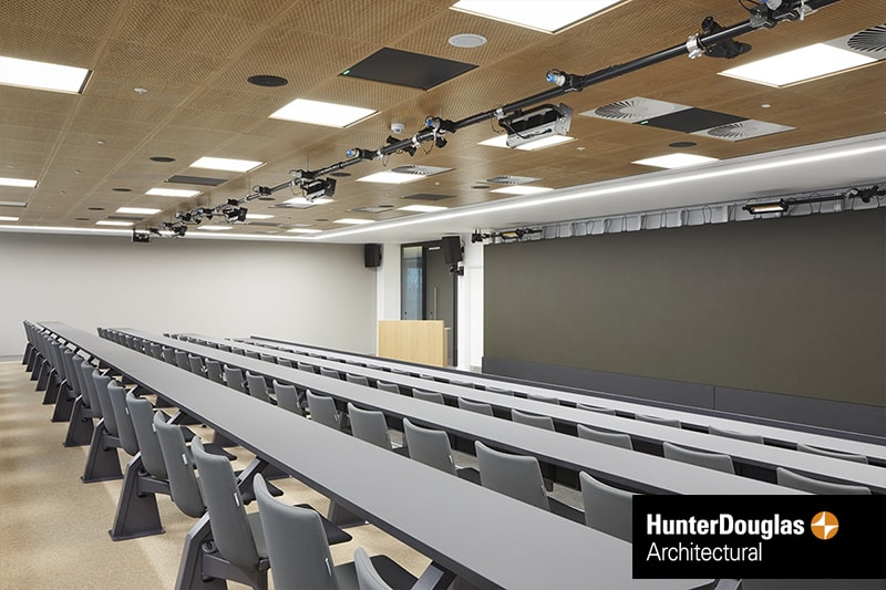 Veneered Wood Ceiling Panels