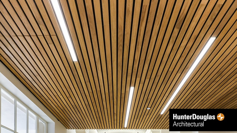 Hunter Douglas Linear Ceiling