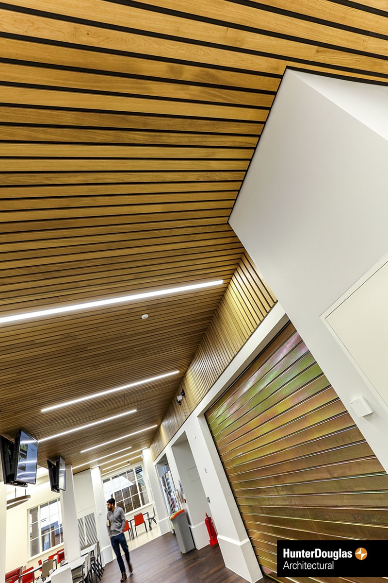 Linear Solid Wood Ceiling