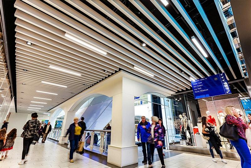 Shrewsbury Retail Refurbishment Includes Hunter Douglas