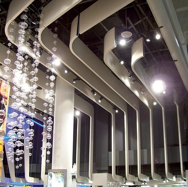 Ceiling Design Ideas In Philippines: Baffle Ceilings