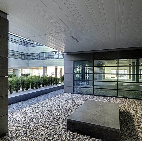 Exterior Metal Ceilings