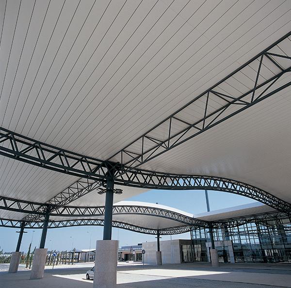 Exterior Wide Panel Ceilings Hunter Douglas