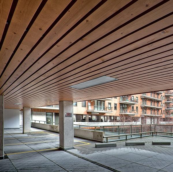 Exterior Wood Ceilings Hunter Douglas
