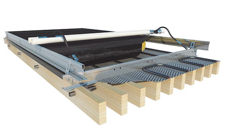 PareauLux houten klimaatplafond