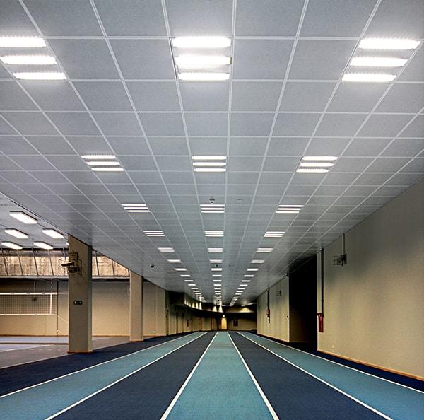 Metaal tiles plafond