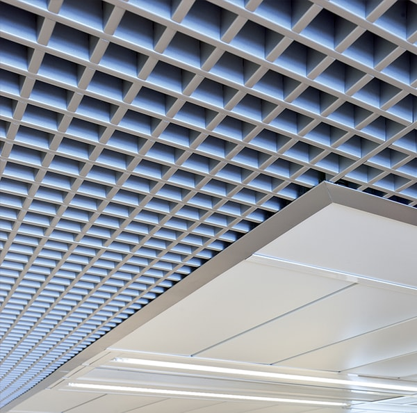 Interior Metal Open Ceilings Hunter Douglas