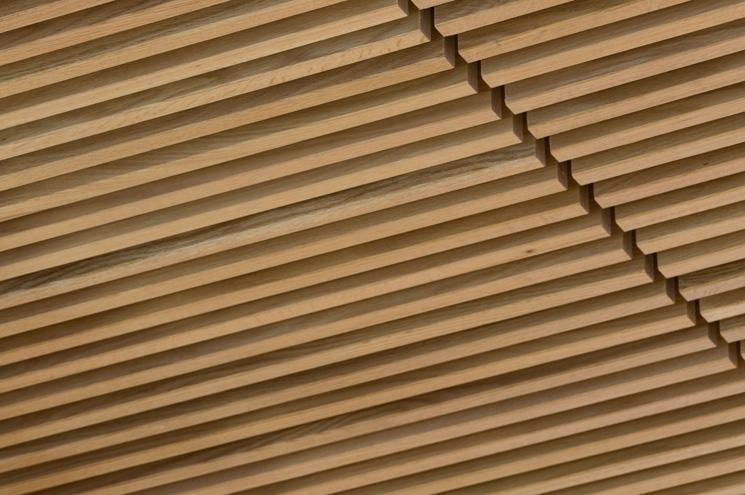Fr be plafond grille bois massif r sistant au feu for Faux plafond resille
