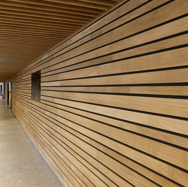 Linear Wood Wall